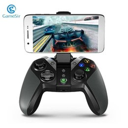 Games Wireless Controllers Australia - GameSir G4 Wireless Bluetooth Gamepad For Android TV BOX Phone Tablet PC VR Game Controller