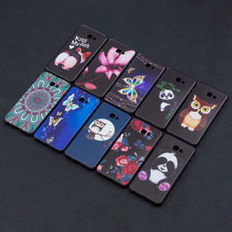 Discount chinese cartoons - Relief Soft TPU Case For Huawei Mate 20 Pro Lite Galaxy (A7 A750 J4 Plus J6) 2018 Cover Flower Animal Butterfly Owl Pand