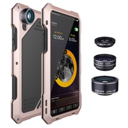$enCountryForm.capitalKeyWord UK - Phone Cases Armor Steel Cover Metal Cellphone Cover Heavy Duty Defender With Wide Micro Camara Lens for Iphone X Samsung S9 Plus S8 Plus