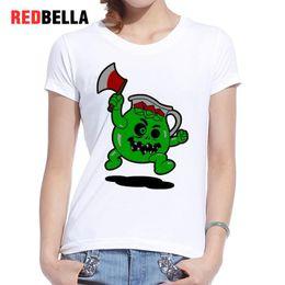 cb14c82f Women's Tee Redbella Parody Monsters Camiseta Mujer Short Sleeve Pop  Culture Graphic Design Cotton Tshirt Women Hipster Cool Sale Tee Shirt