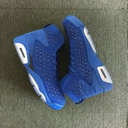 china athletic basketball shoes Canada - 2018 new VI 6 weaves China blue men basketball shoes high quality 6s Infrared Sport Blue mens designer Athletic trainers running Sneakers