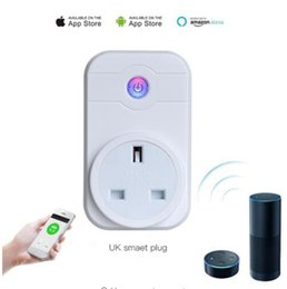 home phone uk 2019 - Top Quality Wifi Smart Plug Home Automation Phone App Timing Switch Remote Control 100-240V Wifi Socket Working with Ama