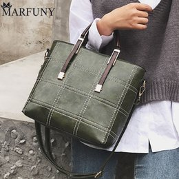 tote bags for womens 2019 - Casual Women Shoulder Bags Handbags Female Fashion Pu Leather Brown Womens Bag For Women 2018 Large Totes For Daily Shop