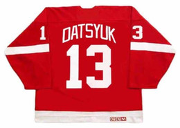 7f3d32c0c PAVEL DATSYUK Detroit Red Wings 2002 CCM Vintage Away Hockey Jersey All  Stitched Top-quality Any Name Any Number