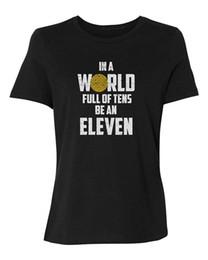 Toptan satış 100% Pamuk Geek Aile Üst Tee Ekip Boyun Kadın Bir Dünyada Onlarca Dolu Bir Onbir Kısa Kollu Yaz Tee Gömlek