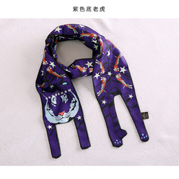 Ladies Scarf Handbags Canada - BIGGER Size Animal Patterns Multi-function Scarves Bags Handbag Scarf Decorate Ribbon Lady Gift Wholesale Drop Shipping XSD30
