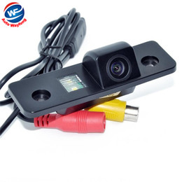 ccd hd backup camera Australia - Hot Car Rearview Rear view Camera Backup Camera Wired CCD HD car parking camera for VW Skoda Octavia night vision waterproof