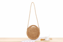 $enCountryForm.capitalKeyWord NZ - Factory direct ins new small and lovely holiday beach woven bag round hand strap shoulder dual-use wild casual straw bag
