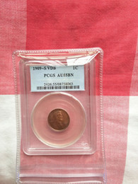 Coin Lincoln NZ - Wholesale Hot Selling PCGS 1909-S VDB AU55 coin Lincoln SMALL CENTS UNITED STATES Coin  FREE SHIPPING