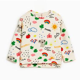 $enCountryForm.capitalKeyWord NZ - Miss Haiwo Girls Sweatshirt for Kids Winter Clothes Baby Thin Velevt Sweatshirts Cartoon rainbow Print Toddler Girl Children
