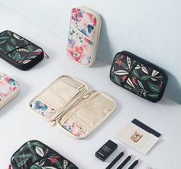 PassPort tyPes online shopping - Hot sale styles high quality travel passport bag certificate holder protective sleeve zipper wallet T3I0208
