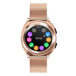 red mp3 watch Australia - Heart Rate Smart Watch waterproof IP68 sports Smartwatch Pace Lite Bluetooth 4.0 MP3 facebook stainless steel bracelet fashion