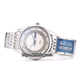 China New Hour Vision Double Date 431.30.41.22.02.001 White Dial Japan Miyota 8215 Automatic Mens Watch Stainless Steel Band Gents Watches cheap japan miyota watch suppliers