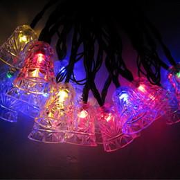 $enCountryForm.capitalKeyWord Canada - Christmas Decorative Solar Powered Lights, 20 LED Bells String light for Outdoor Home Patio Lawn Garden Xmas Party Wedding