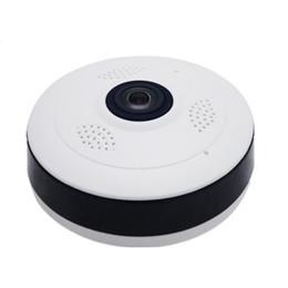 Wifi color Webcam online shopping - Fisheye VR Panoramic Camera HD P MP Wireless Wifi IP Camera Home Security Surveillance System Camera Wi fi Degree Webcam V380