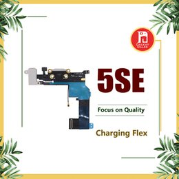 HeadpHones audio cable online shopping - Charging Port Flex Cable For iPhone SE Charger USB Dock Connector with Headphone Audio Jack Mic Antenna Ribbon Black White for iphone SE