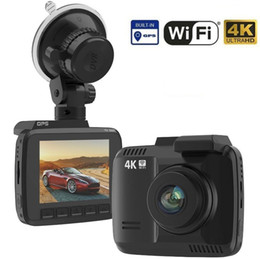 gps out NZ - Dual Lens Built in GPS WiFi FHD 1080P Front + VGA Rear Camera Car DVR Recorder 2160P Dash Cam Novatek 96660 Dashcam