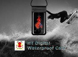 $enCountryForm.capitalKeyWord NZ - Luminous cellphone Waterproof Case IPX8 Waterproof Bag Underwater Waterproof Phone pouch for iPhone 6 7 6S 7S Plus Samsung up to 6.0inch