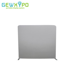 Black Screen Fabric NZ - 8ft*7.5ft Portable Straight Blank Backdrop Wall,Photo Booth Easy Fabric Cover Display Stand With White Or Black Fabric Banner