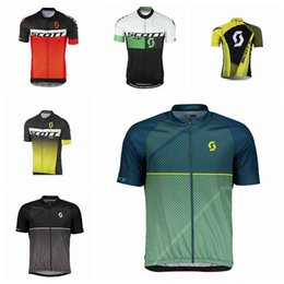 2018 SCOTT Teams Pro Cycling Jersey Bike Shirts Ropa Ciclismo Tour De  France Mens Summer Quick Dry Bicycle Maillot 92124Y 77e3954e6