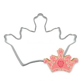 50pc Royal Crown Icing Set Stamp Mold Pancake Biscuit Cookie Cutter Kitchen Tools Stainless Steel