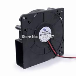 dc centrifugal blower 2019 - 1 PCS Gdstime DC 24V 2P 120mm 120x32mm 12cm 12032s Centrifugal Blower Fan cheap dc centrifugal blower