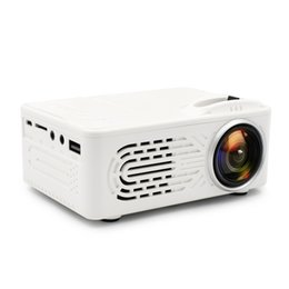 Projector Remotes NZ - RD-814 LED Mini Pocket Projector 320 x 240 Home Theater Proyector Support 1080P Perfect for Movie Portable Projector with Remote Controller