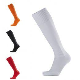 ed375d38b09 White nylon knee socks online shopping - 6 Color Soccer Socks Unisex Sport  Long Knee High