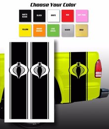 Chevy Wholesale Australia - For G.I. Joe Cobra Chevy Ford Dodge Pickup Truck Bed Stripes decal   Choose Color