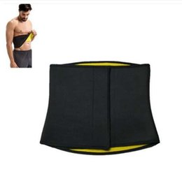 Großhandel Männer Neopren Shaper Taille Trainer Taille Cincher Korsett Männer Körperformer Bauch abnehmen Gürtel Fitness Schweiß Gürtel