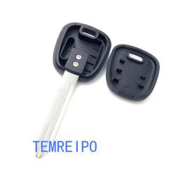Keys Chip Shell Australia - Entry Key Cover for Suzuki Transponder Key Blank Replacement Uncut Chip Key Shell fob