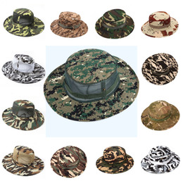 7969c14269c Camo Hat Outdoor Men s Hunting Mesh Suns Hat Camouflage Fishing Caps  Multi-Color Choice 32 Styles Support FBA Drop Shipping G667F