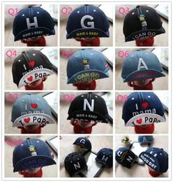 $enCountryForm.capitalKeyWord Australia - 2018 baby hat spring and summer 1-2 years old boy baby cute visor cap children's denim baseball cap