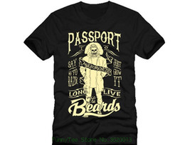 5b34e9d1 Passport To Awesome Barber Beards Shave Shaver Knife Dtg Mens T Shirt Tees