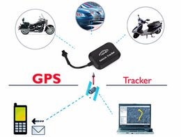 Gsm Mini Devices Australia - yentl dhl ups fast free shipping Mini GPS Tracker Vehicle Tracking Device Car Motorcycle GSM Locator for car motocycle anti-thief