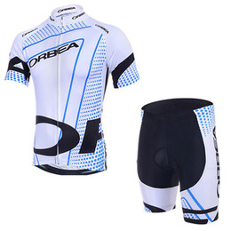 967a9d8a7 ORBEA team Cycling Short Sleeves jersey (bib) shorts sets 2018 new summer Quick  Dry Mountain Bike jacket riding suit Gel Pad C1715