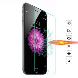 $enCountryForm.capitalKeyWord UK - 9H tempered glass For iphone X 8 4S 5 5S 5S SE 6 6s plus 7 plus screen protector protective guard film case cover+clean kits