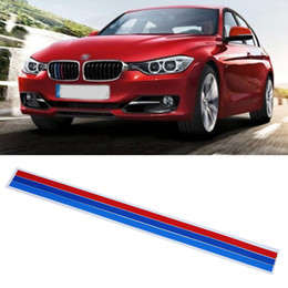 Car Sticker Kidney Grille Decal Sticker Sport Stripe 3 Colors Car Stickers  For BMW Series Stripes Cars Styling Accessories