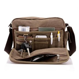 $enCountryForm.capitalKeyWord Canada - Multifunction Canvas Bag travel bag men messenger Package brand men's crossbody bag luxury vintage style briefcase High Quality