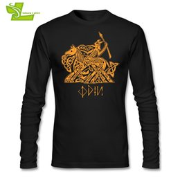 $enCountryForm.capitalKeyWord Australia - Odin T Shirt Men's Long Sleeve O Neck Cool Tees Male Latest Clothing Cool Custom Made Loose Teenage Tee Shirt