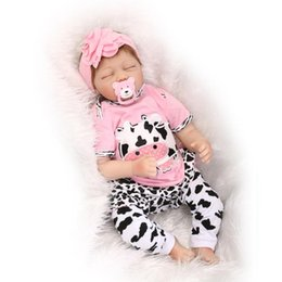 "$enCountryForm.capitalKeyWord UK - 22"" lifelike reborn baby doll silicone vinyl real gentle touch newborn doll Girl"