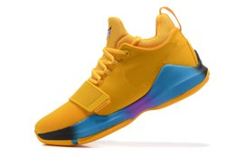 Discount new paul george shoes - 2018 New Arrival Paul George PG1 Ferocity Glacier Grey Shining Mens Basketball Shoes PG 1 Top quality Sports SHOES