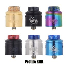 original wotofo mod 2019 - 100% Original Wotofo Profile RDA Tank 24mm Diameter Top Filling Mesh Coil Resin Drip Tip Atomizer For 510 Thread Mod Aut