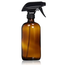 China Empty Amber Glass Spray Bottles with Labels (2 Pack) - Refillable Container for Essential Oils, Cleaning Products, or Aromathe cheap pack empty glass bottles suppliers