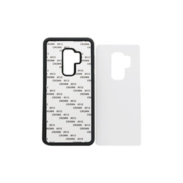 online shopping 50 For Samsung S9 TPU rubber D sublimation case for Samsung S9 S9 plus case with aluminium metal sheet