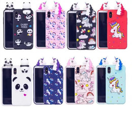 Discount s6 edge girl cases - Cute 3D Doll Soft Silicone Case for Samsung S9 PLUS S8 PLUS NOTE8 S7 edge S6 edge Women Girls Lovely Panda horse case