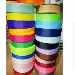 Ancho caliente 40 mm 24 colores 100 yardas Cinta de la boda de Grosgrain Diadema Tarjeta de invitación Envoltura de regalos Suministros riband DIY en venta