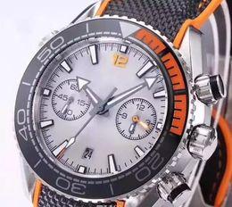 Luxury Watches Blue Australia - Classic super blue green night light watch Chronograph VK Quartz Watches Men Top Brand Luxury clock Professional Wristwatches