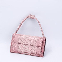 designer body chain silver 2019 - Luxury Genuine Leather Handbags Designer Chain Shoulder Cross-body Bags Small Crocodile Pattern Leather Clutch Women