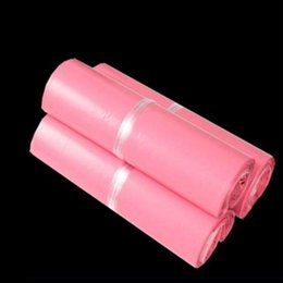 Plastic bag Packaging quality seal online shopping - 45x55cm Pink plastic bag moisture proof High quality packaging sack Self seal Adhesive Courier Package sack plastic